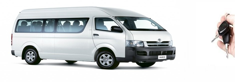 Vans of all types and capacity for rental