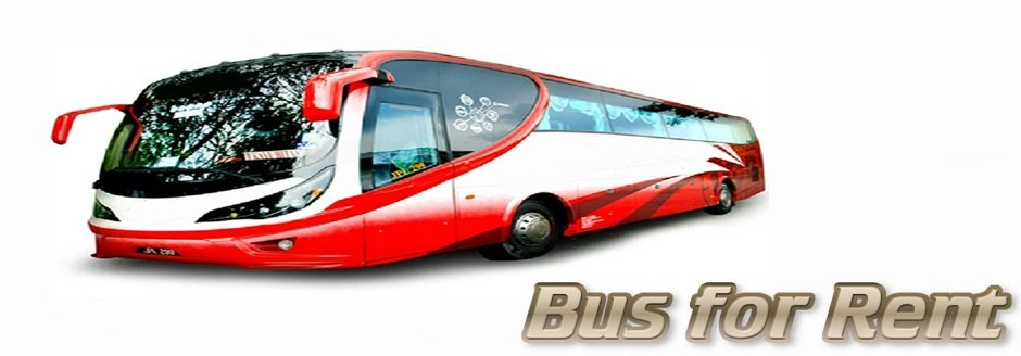 Bus with drivers for rental within Malaysia